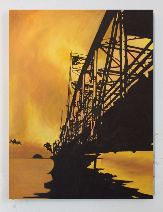 Stillwater, Oil on Canvas, 48 x 60, 2015